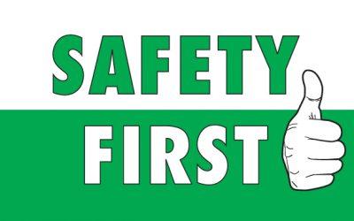 קודם כל בטיחות