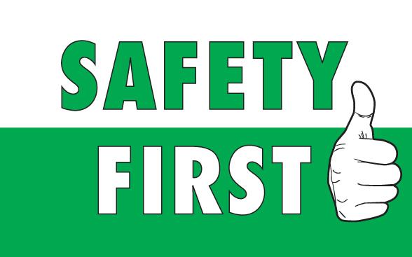 Bezpečnost na prvním místě