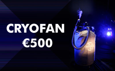 Special cryofan prices for all buyers of Cryomed Pro or Mini cryosaunas – limited time offer!