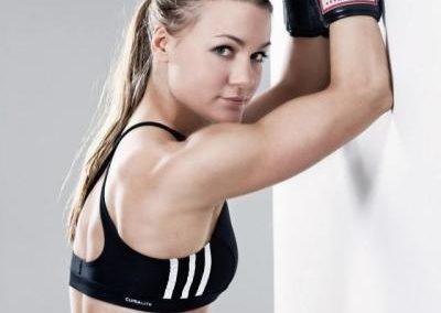 """Awesome! The boxer Nicole Wesner has placed second in the ranking of the most beautiful German female athletes. The Viennese honoree told """"Heute"""" that """"I am totally surprised. I had no idea that I was being considered in such a contest."""""""