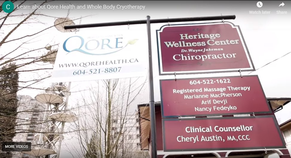 First CryoTherapy Centre and Spa in Canada (video)