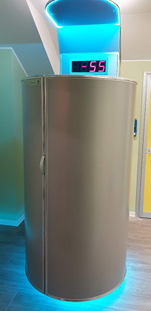 Cryosauna Cryomed Pro in San Raffaele hospital