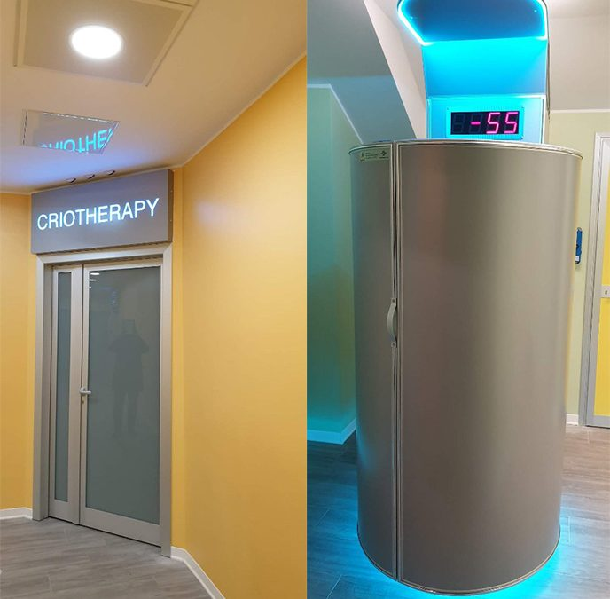 Cryomed Pro cryosauna is now in Italy's largest hospital