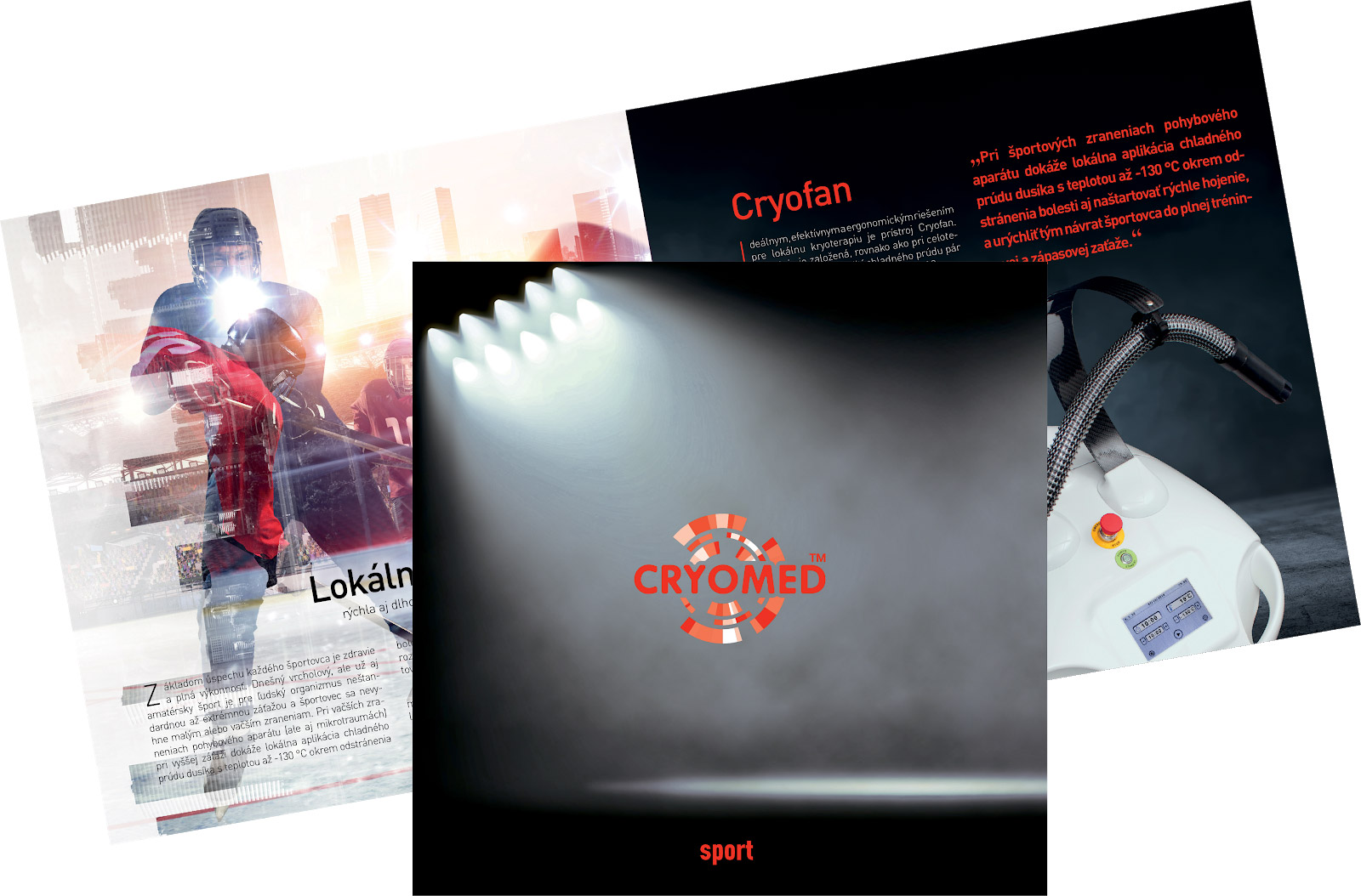 Cryomed brochures - 3,50 euro