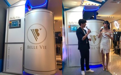 Cryosauna Cryomed Pro was presented on a luxury asian event
