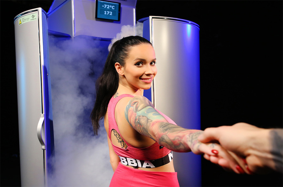 Cryotherapy is a good helper for people leading a healthy way of life