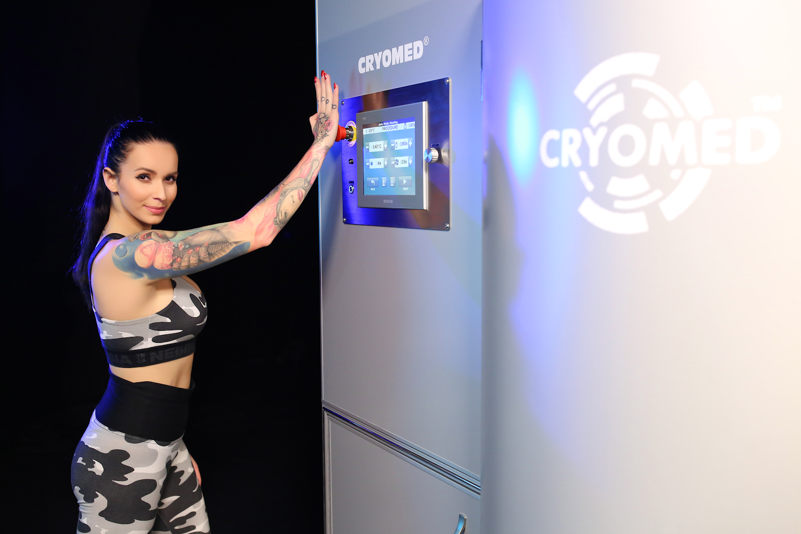 Cryosauna for 10,000 Euro