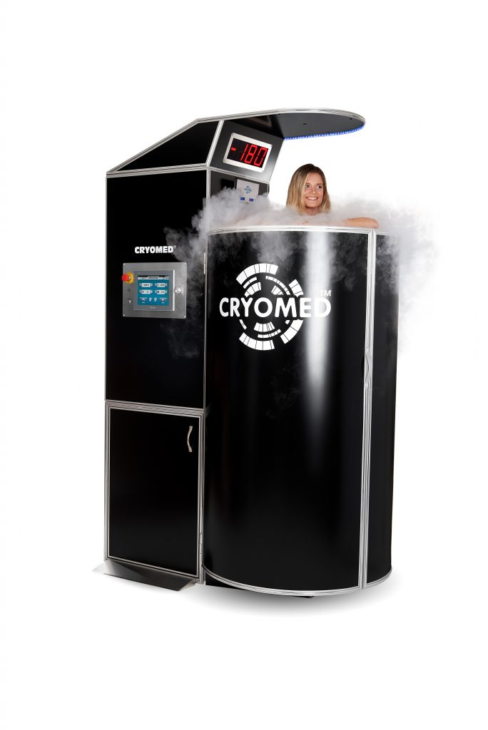 Cryomed Pro cryosauna at a special price