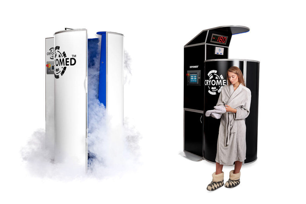 Cryosauna Cryomed One with 20% discount and Special offer for cryosauna Cryomed Pro