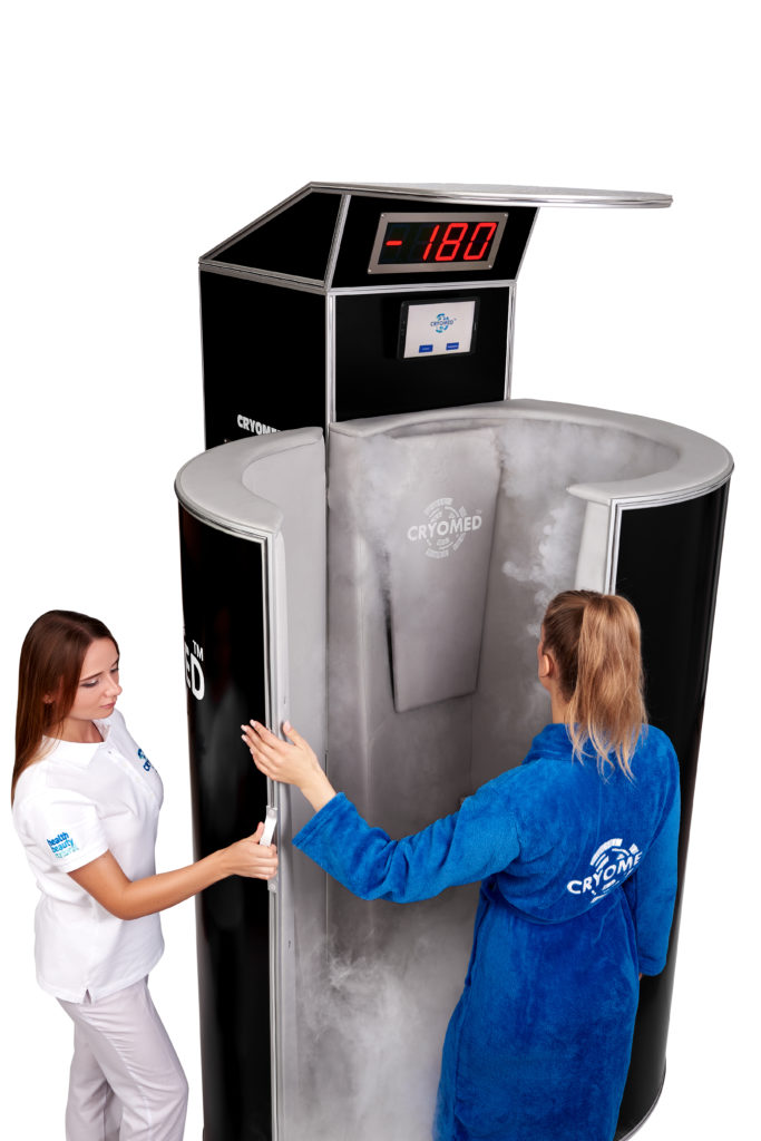 Cryomed Pro M2 cryosauna for medicine
