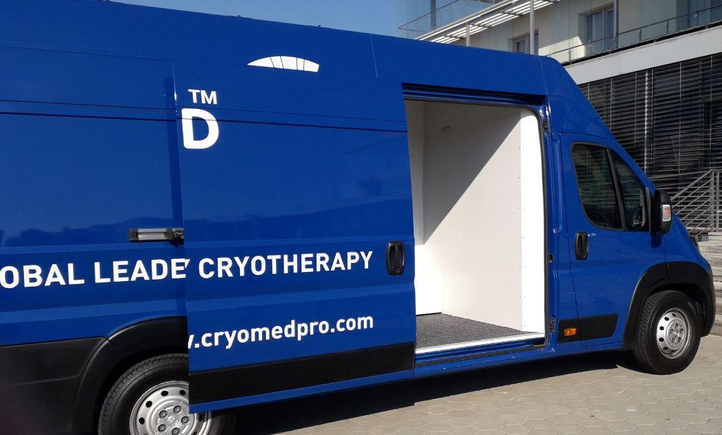 Benefits of mobile cryotherapy