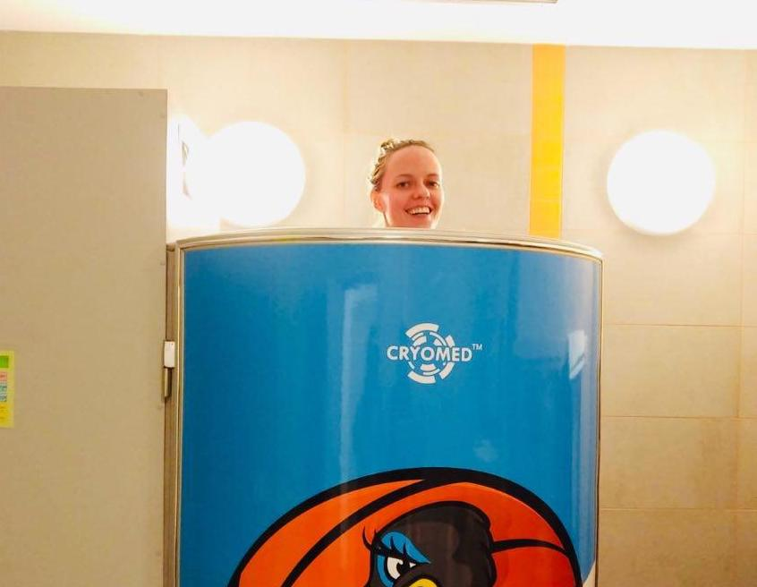 Cryotherapy sessions stimulate endorphin release making you happier